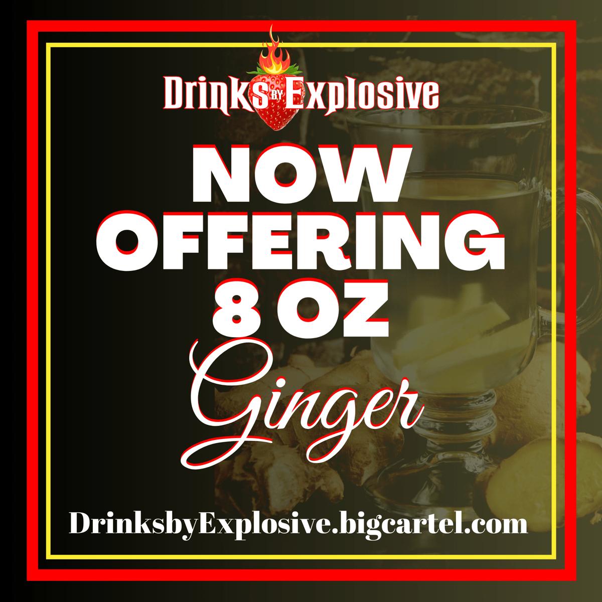Image of Fresh juiced Ginger  $8.50