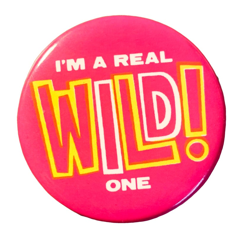 Image of Wild One Button