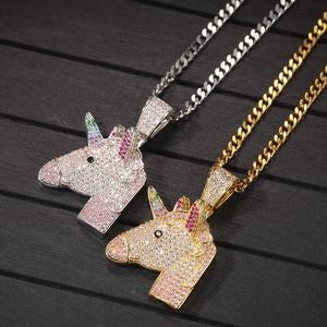 Image of Unicorn Bling Pendant