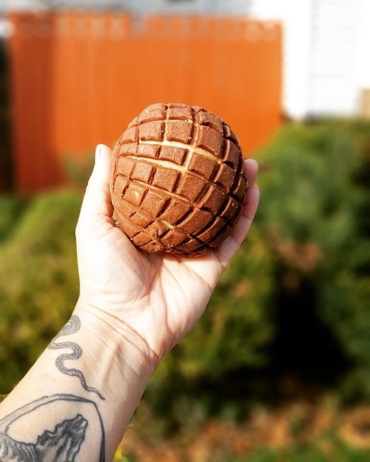 DELIVERY - Dozen Naturally Leavened Vegan Brioche Conchas