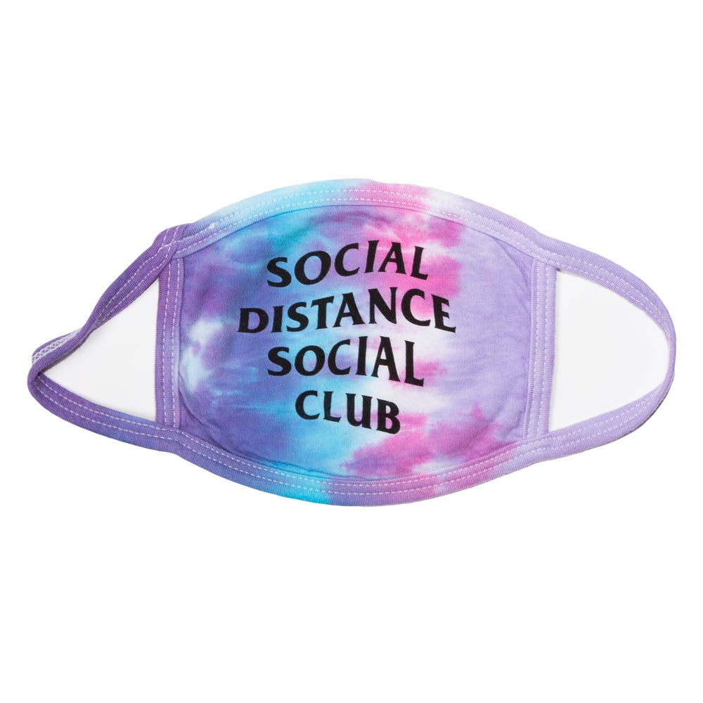 Image of SOCIAL DISTANCE FACE COVER