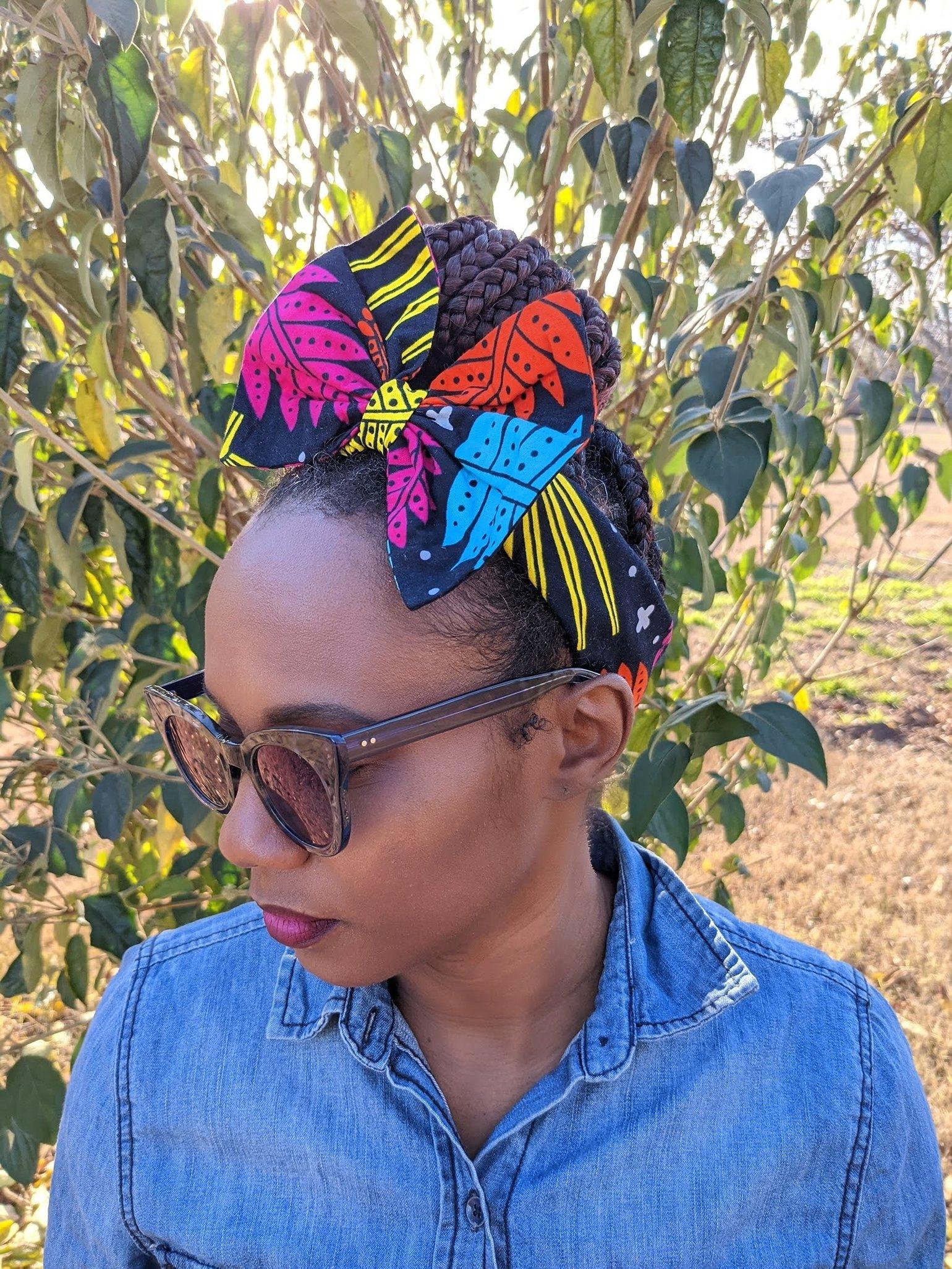 "Image of ""Ayabba"" Bow Headband"