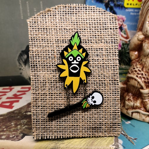 Image of Witch Doctor - Acrylic Pin