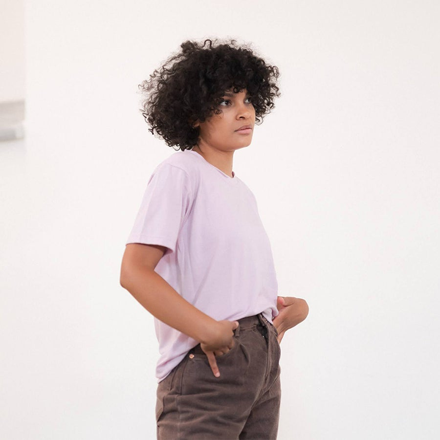 Image of The Classic Tee -Lilac