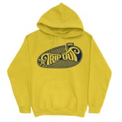 Image of  Hoodie Trip Out TANK Logo Yellow