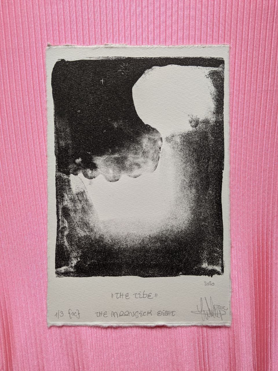 "Image of Lithography ""The tide ✯.'✷°*"""