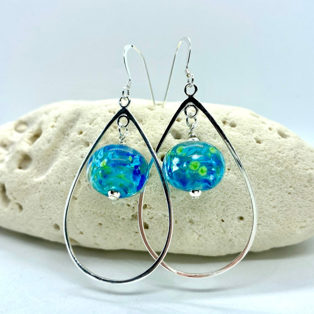 Image of Tropical Storm Loop Earrings