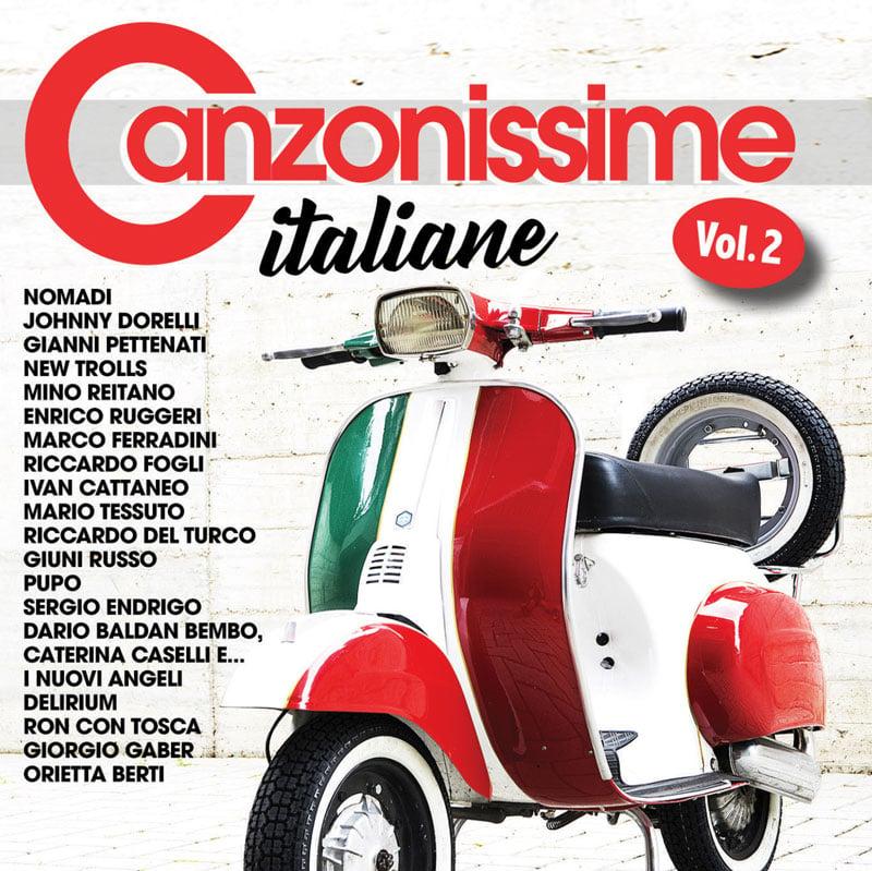 ATL 1243-2 // CANZONISSIME ITALIANE VOL.2 CD COMPILATION)
