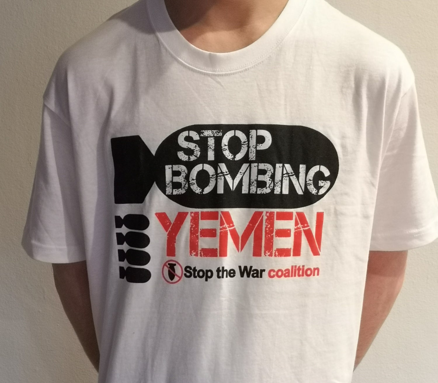 Image of Stop Bombing Yemen T-Shirt