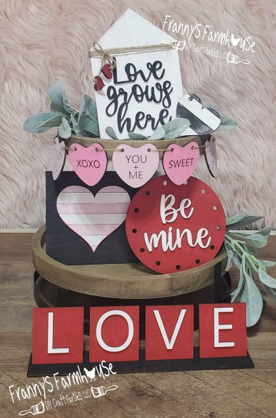 Image of Tiered Tray  - Valentine's Day Inspired