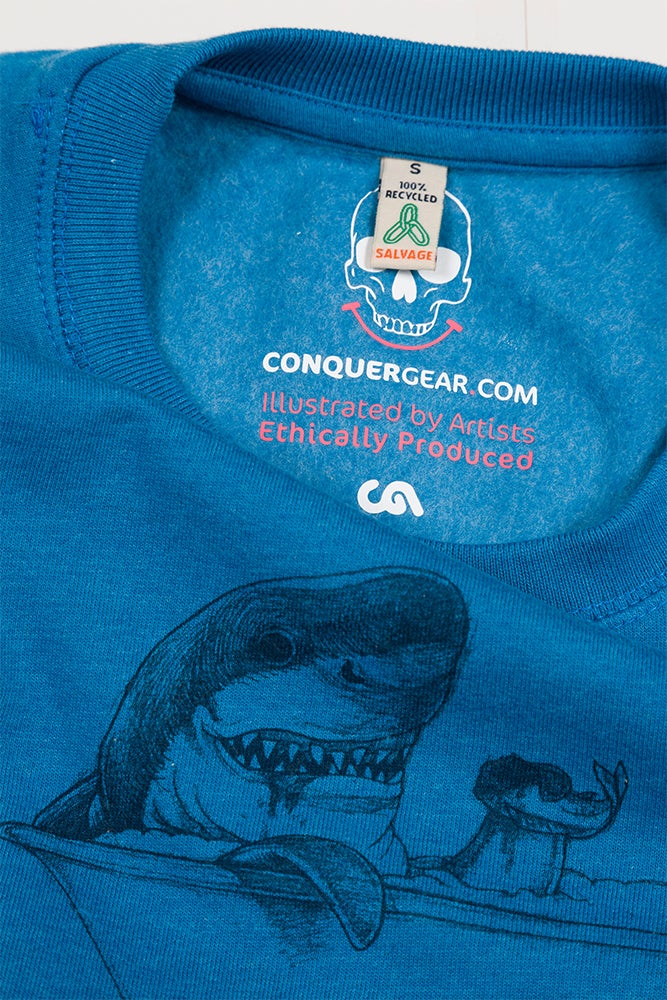 Unisex Shark Sweatshirt (Recycled)