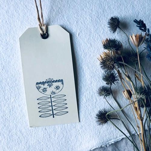 Image of Folk Flower Gift Tags