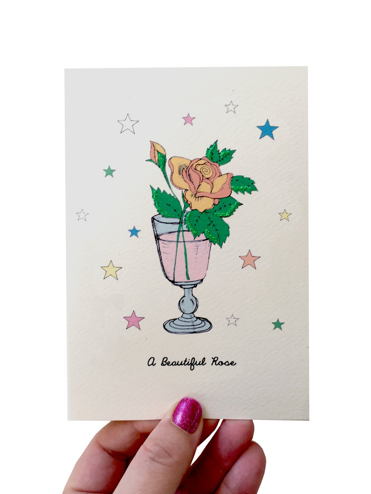 A Beautiful Rose Card