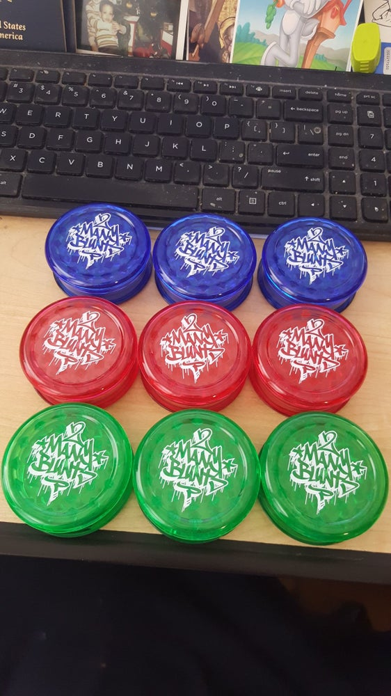 Image of 2 MANY BLUNTS GRINDERS (IN STOCK)
