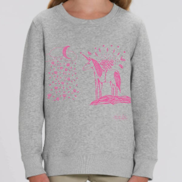 Image of Kids Sweat-shirt *Unicorn*