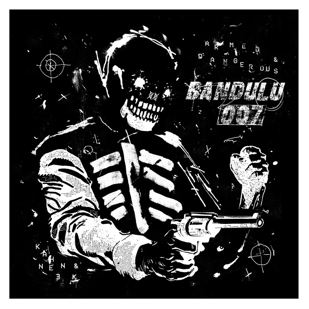 Image of Bandulu 007 - Armed & Dangerous — Giclée art-print