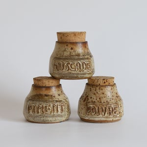 Image of Lot de 3 pots à épices