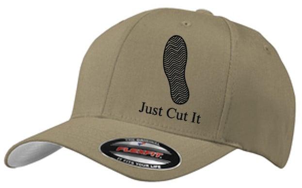 Image of JUST CUT IT ~ RUNNING W FLEXFIT CAP
