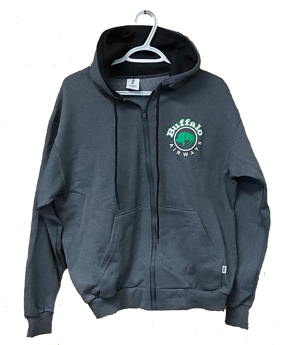 Image of Original Buffalo Zip Up Hoodie