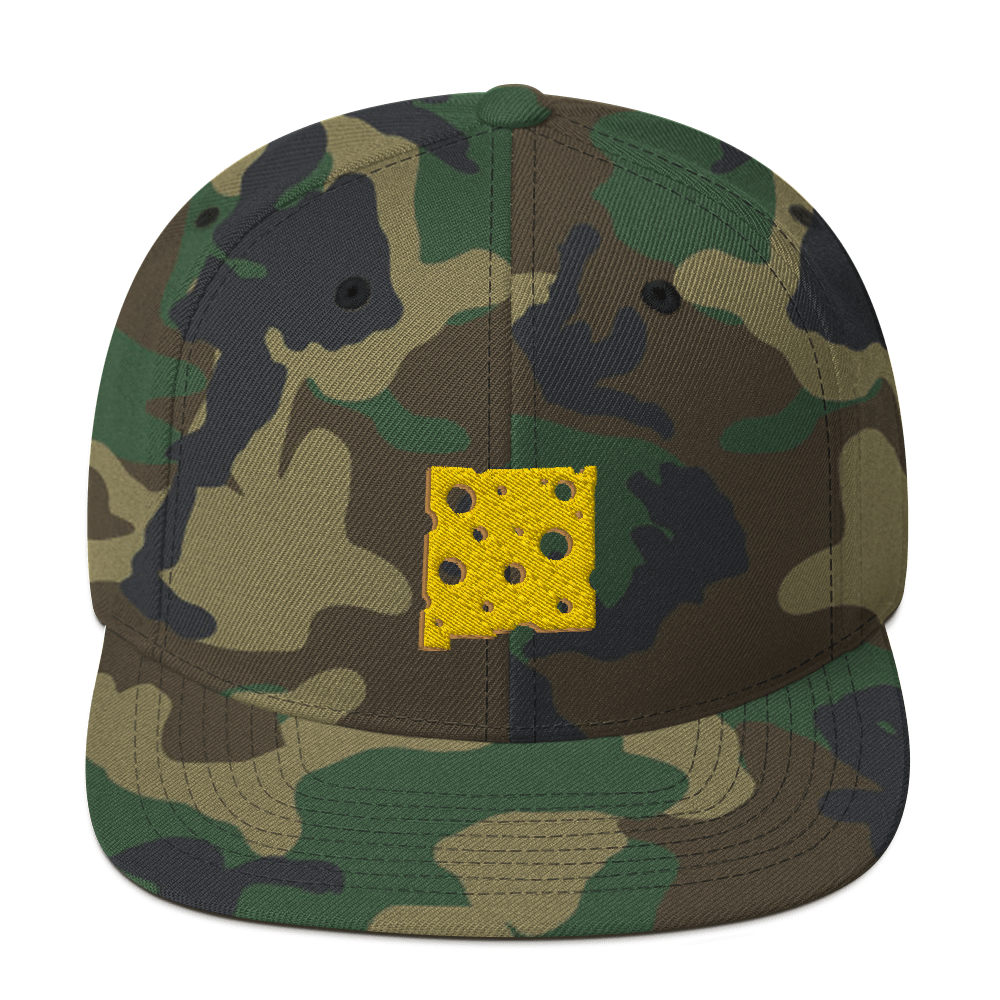 Image of NEW MEXICO CHEESE / CAMP SNAPBACK