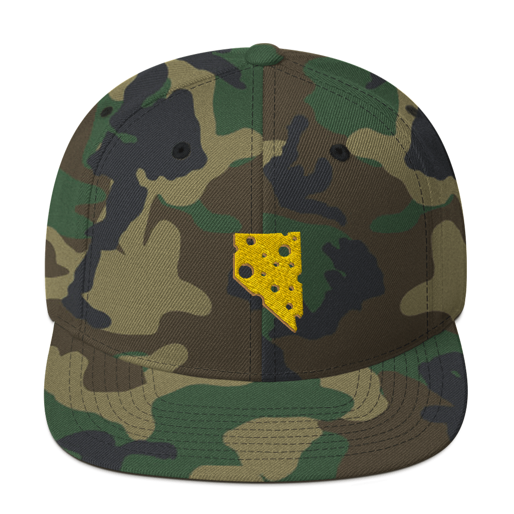 Image of NEVADA CHEESE / CAMO SNAPBACK