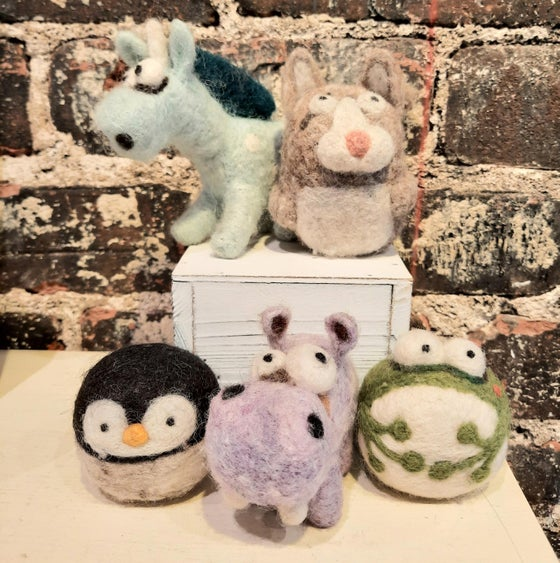 Image of Wool Animal Felting Kits (sold separately)