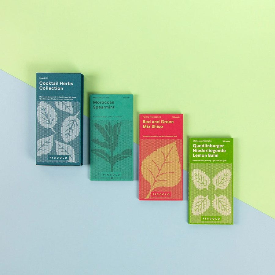 Image of Cocktail Herbs Seed Collection