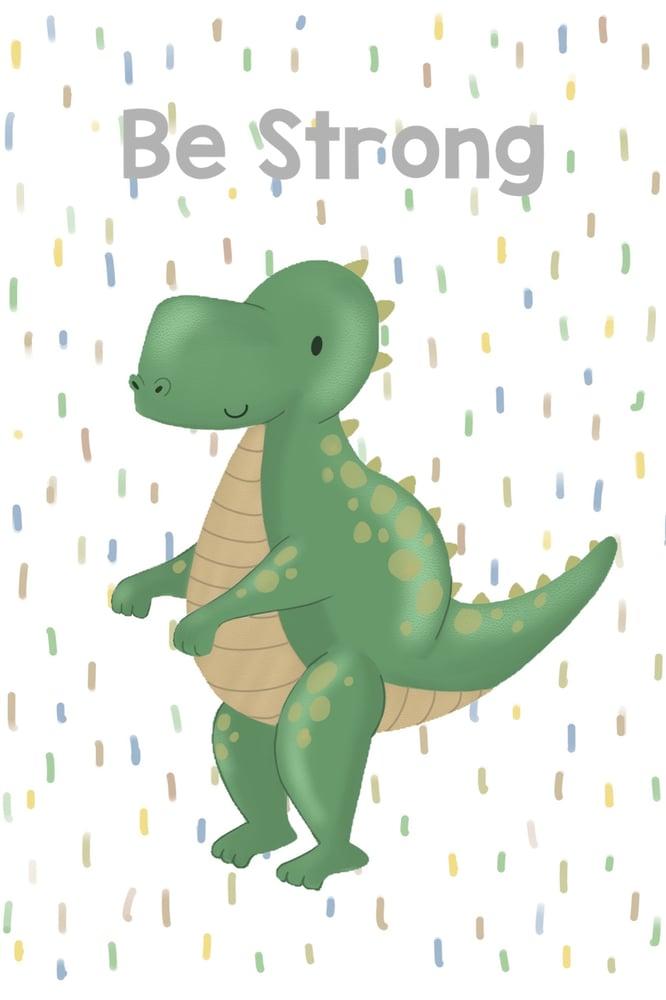 Image of Personalised Dino Prints