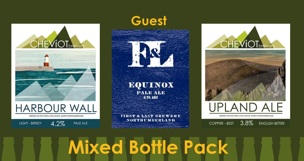 Image of TRIPLE Guest Pack - EQUINOX, Upland Ale & Harbour Wall