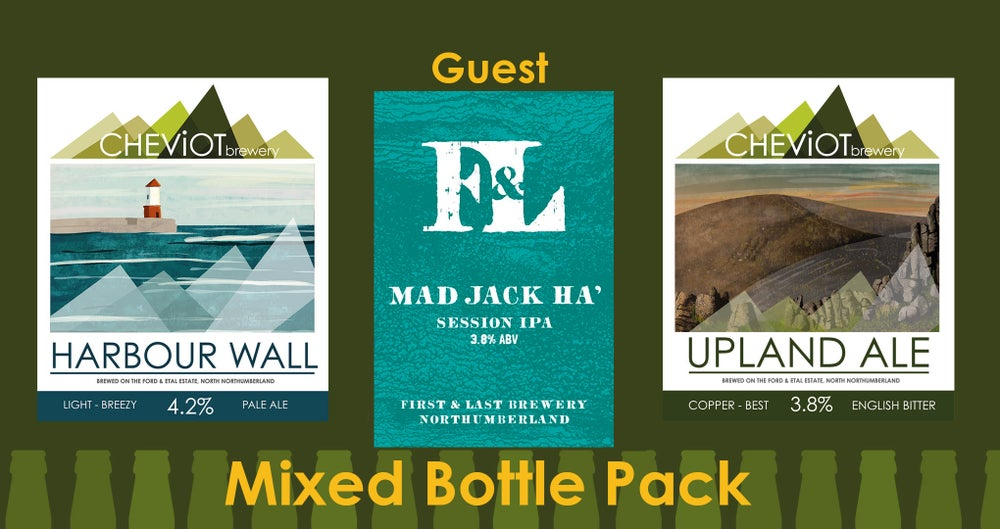 Image of TRIPLE Guest Pack - MAD JACK HA, Upland Ale & Harbour Wall