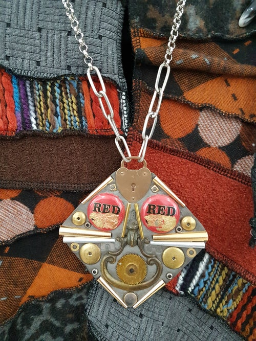 Image of talisman #49 red