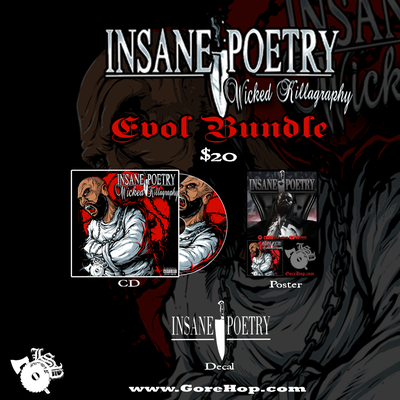 Image of INSANE POETRY: EVOL BUNDLE