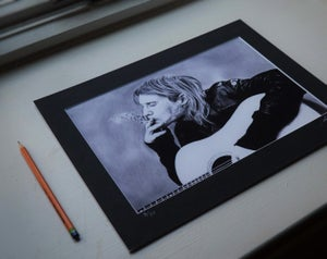 Kurt Cobain (Limited edition print)