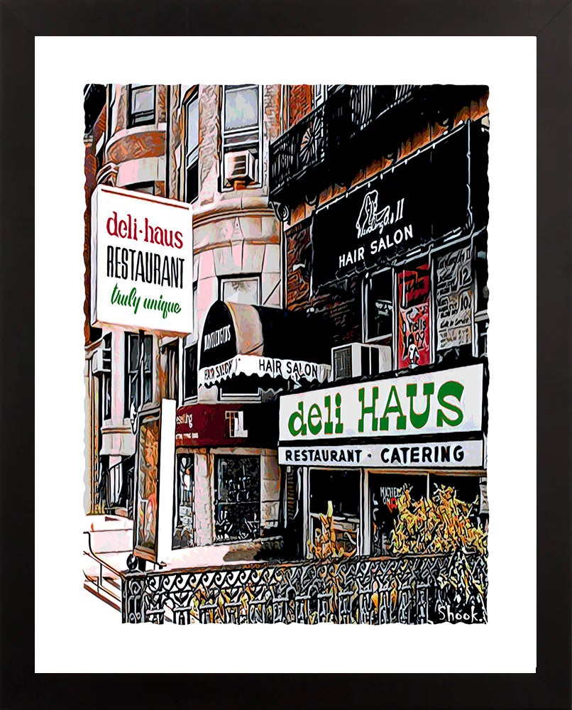 "Deli Haus Boston Giclée Art Print - 11"" x 14"""