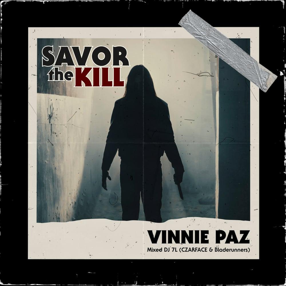"""Vinnie Paz """"Savor The Kill"""" Mixtape CD"""