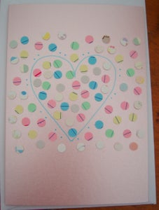 Image of Dotty Pink Card