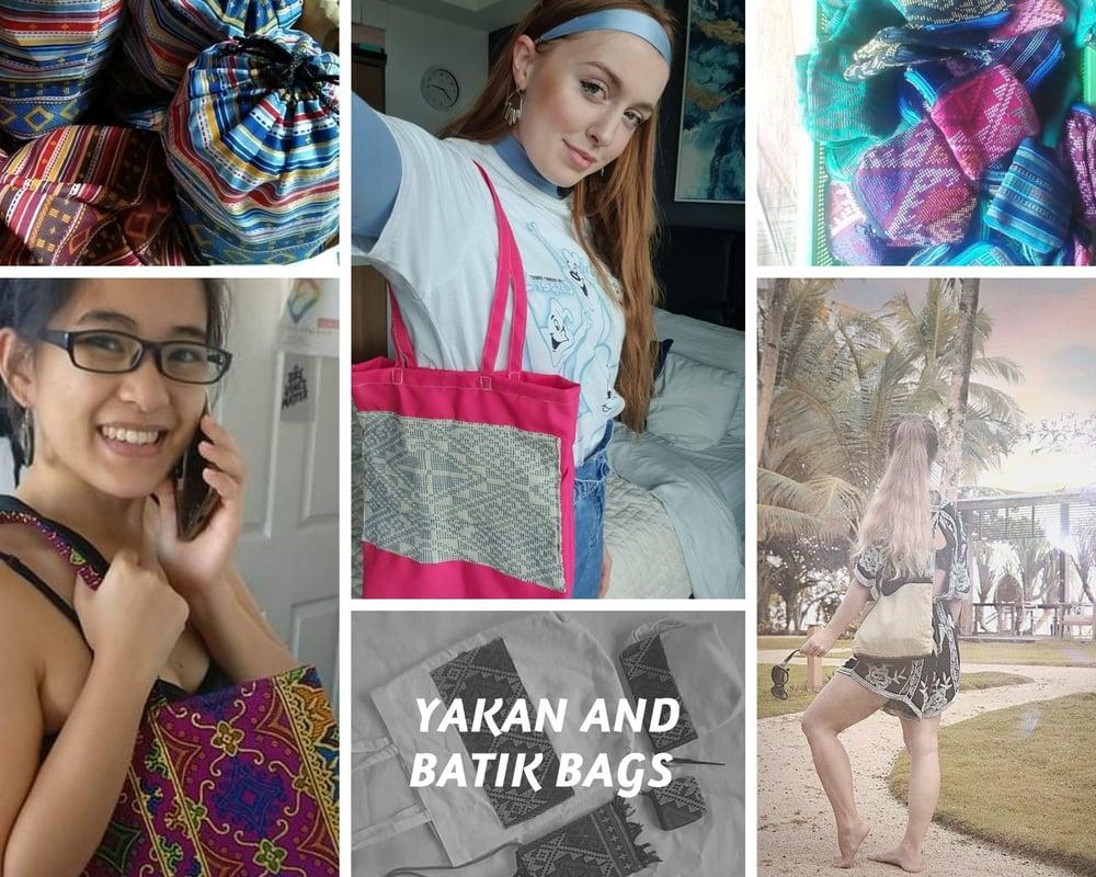 Image of Yakan and Batik bags
