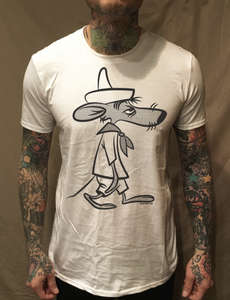 Image of SLOWPOKE RODRIGUEZ WHITE TEE