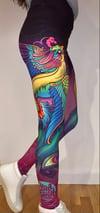 Colorful Phoenix Leggings