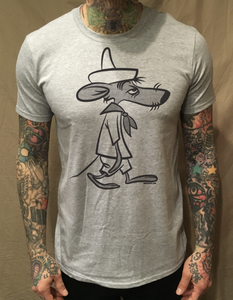 Image of SLOWPOKE RODRIGUEZ GREY TEE