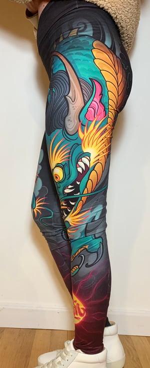 Image of Dragon Leggings