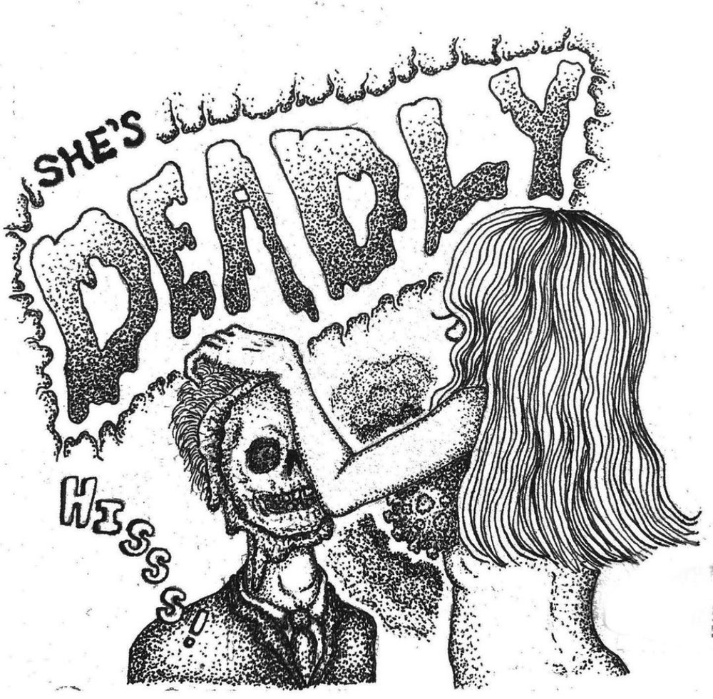 """""""She's Deadly!"""" Mask"""