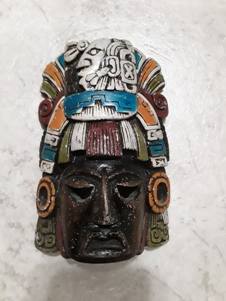 Image of Mexican Mayan Mask 7 inch