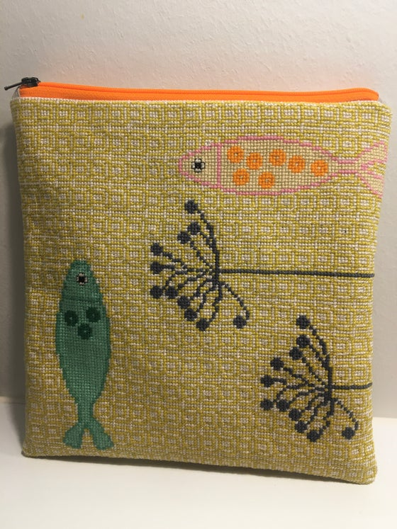 Image of GARN-ITURE EMBROIDERY KIT / GONE FISHING (SMALL)