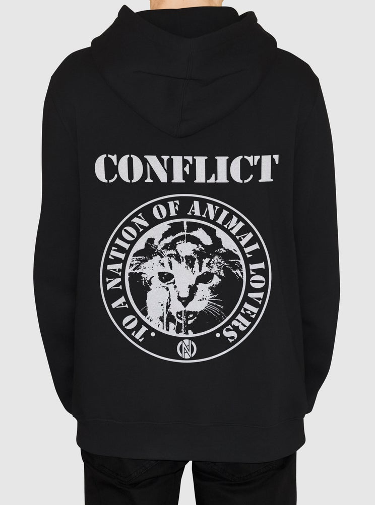 Image of Nation of Animal Lovers Zip Up Hoodie