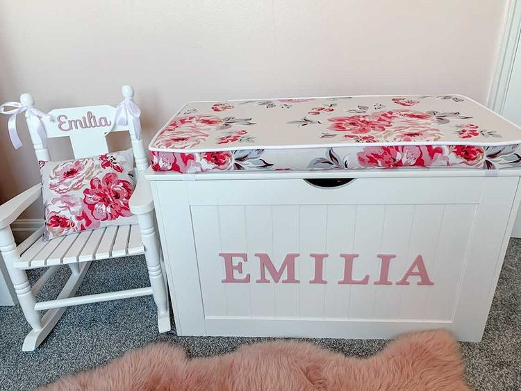 Image of Personalised Chest - Cushion Top - BRAMPTON BUNCH ***DELIVERY AFTER 1st OCTOBER***
