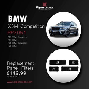 Image of Pipercross  BMW X3M X4M 2019+ Pannel Filters