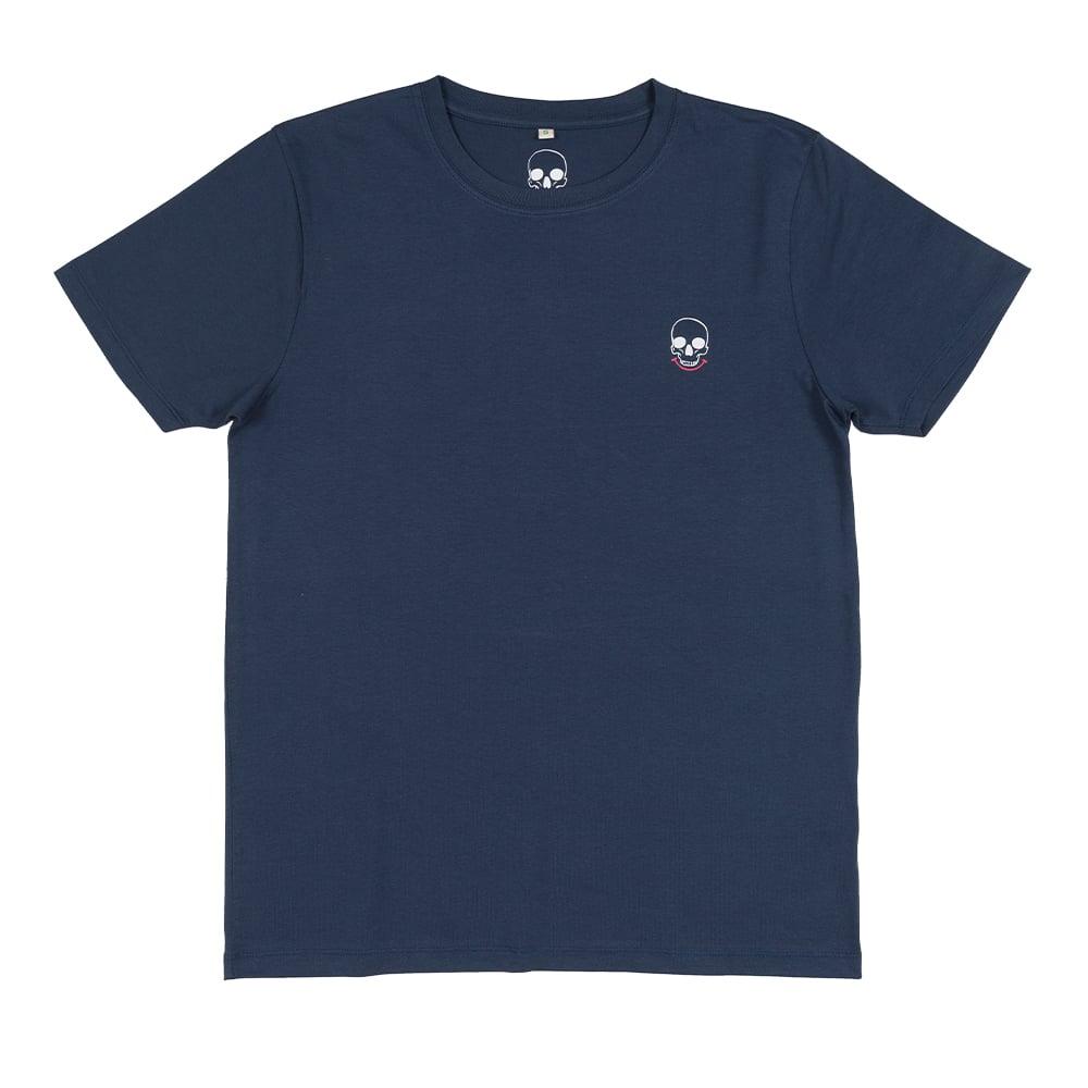 Back Scratch Unisex Denim T-shirt (Organic)