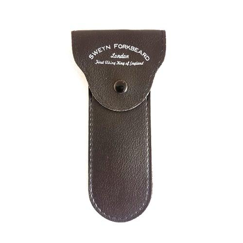 Image of Safety Razor with Wood Handle