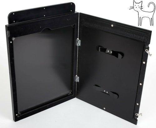 Image of *NEW* Stenopeika Wet Dry plate holder 8X10 (glass tin metal)